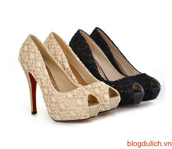 Giày cao gót dáng đẹp