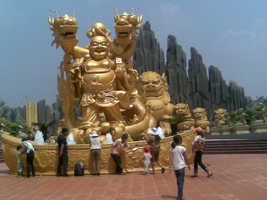 khu du lich suoi tien