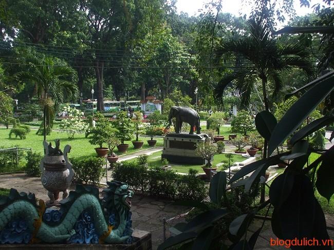 thảo cầm viên sài gòn Những điểm du lịch ở Sài Gòn