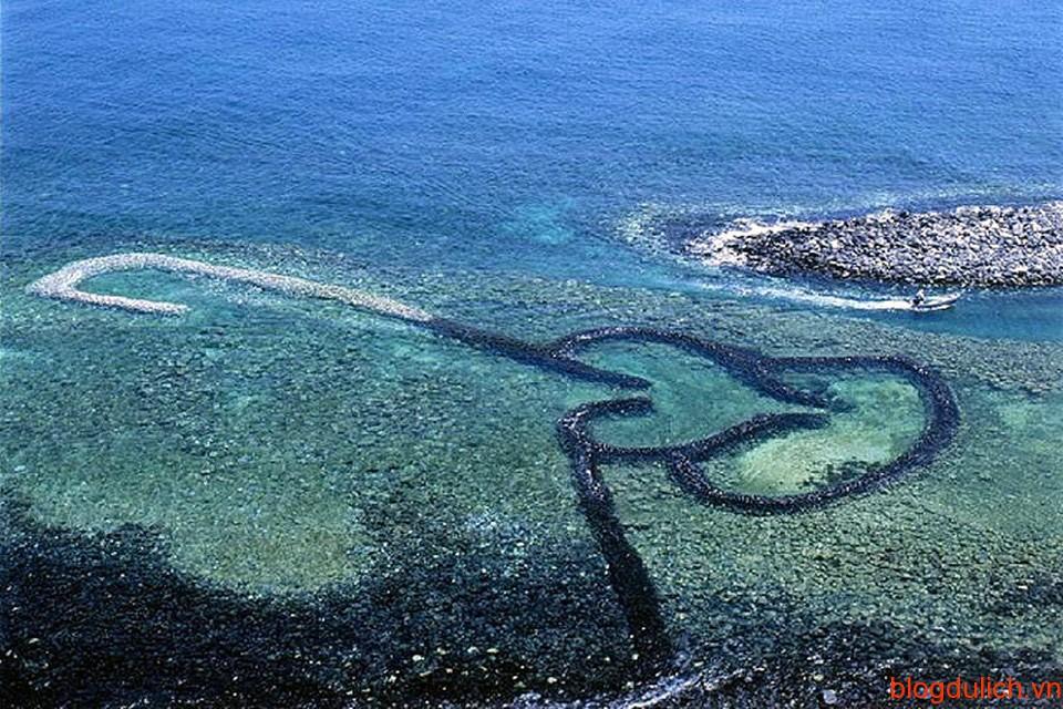 Trái tim móc nối yêu thương tại đảo Penghu, Đài Loan