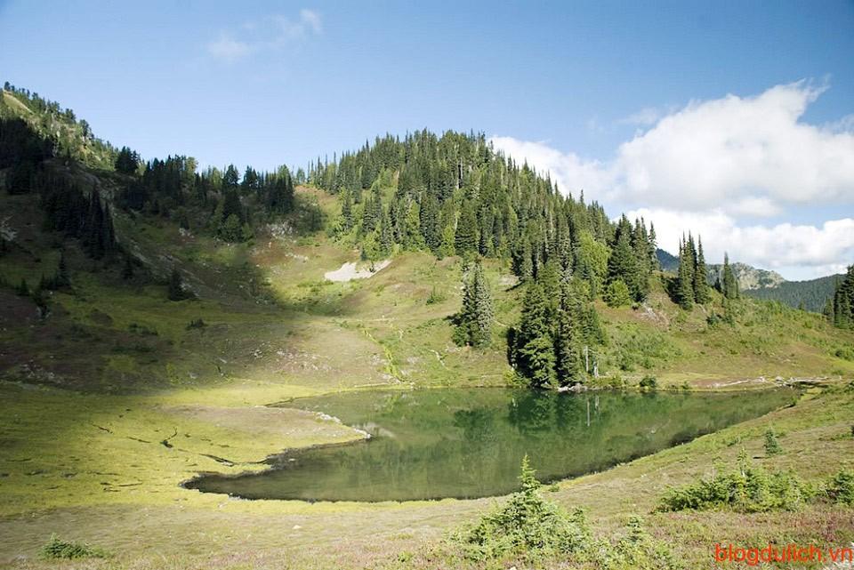 Hồ trái tim tại công viên quốc gia Olympic, Washington, Mỹ