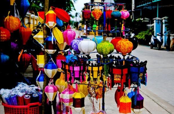 phố đèn lồng Hội An