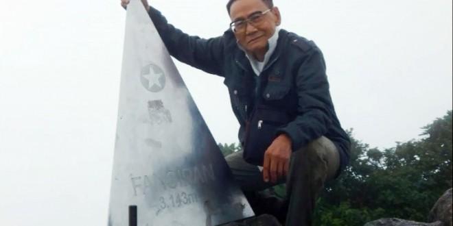 Cụ ông 83 tuổi dành kỷ lục Châu Á- Chinh phục Phan Xi Păng
