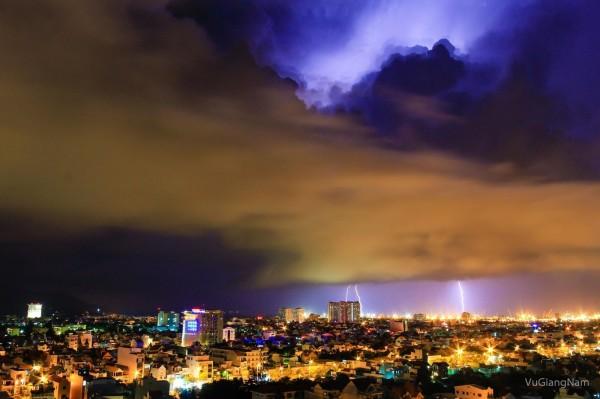 Thành phố Vũng Tàu lung linh khi lên đèn