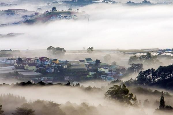 Thành phố trong sương mù Đà Lạt