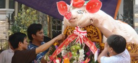 """Lễ hội rước lợn """"Ông Bồ"""" Hải Phòng- Độc nhất vô nhị ở Việt Nam"""