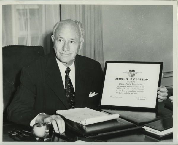 Conrad Hilton - người sáng lập tập đoàn Hilton