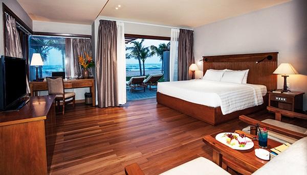 Phòng ngủ rộng rãi, thoáng mát và sang trọng