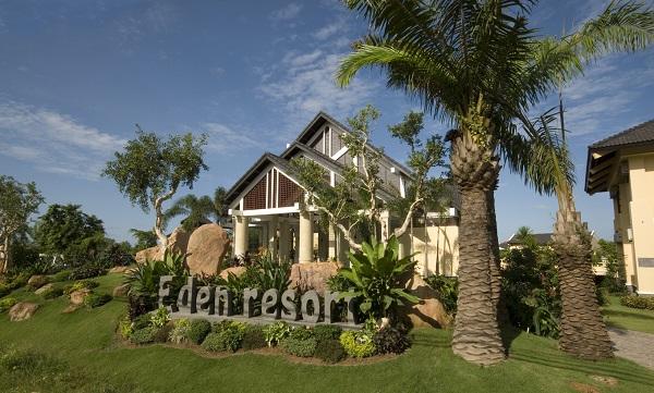 Khuôn viên Eden Resort Phú Quốc