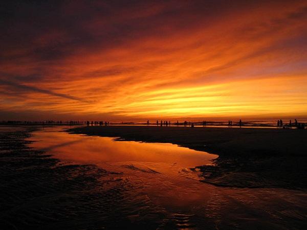 Bình minh trên biển Sầm Sơn