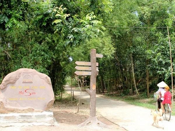 Lối vào lát đá