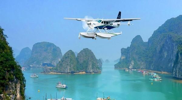 Du lịch bằng thủy phi cơ sẽ cho bạn cảm giác mới mẻ cực kỳ thú vị