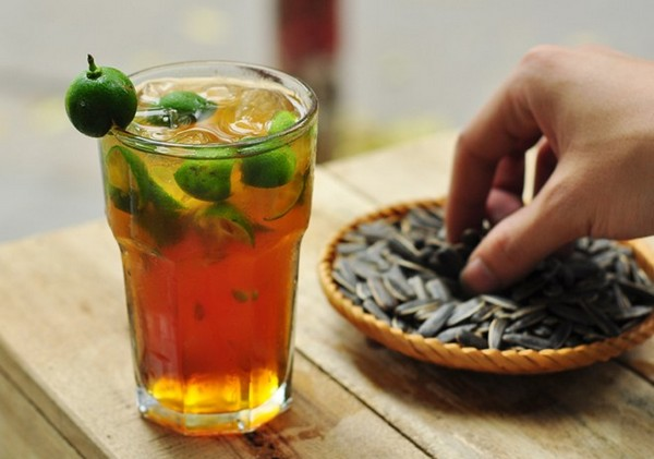 Trà quất Yên Phụ cũng là thức uống không nên bỏ qua khi hè về