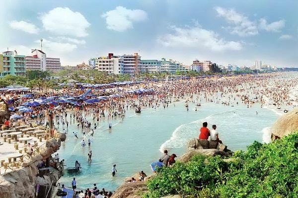 Biển Sầm Sơn - bãi biển đẹp ở Bắc Trung Bộ