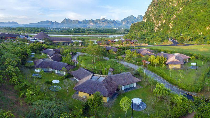 Khu biệt thự Rock Villa Serena Resort Kim Bôi Hòa Bình